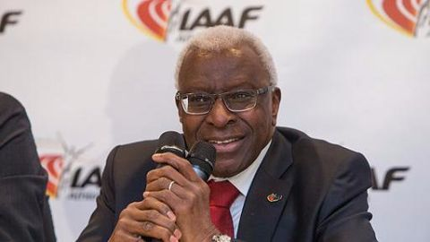 Former IAAF chief suspect in doping bribery scandal