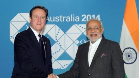 Modi's historic 3-day England visit