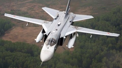 Russian warplane shot down by Turkish forces