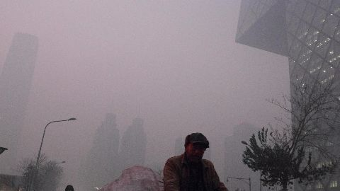Canada sells 'fresh air' to smog ridden China