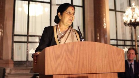 Sushma Swaraj's visit to West Asia