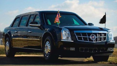 A new limousine for the new US President