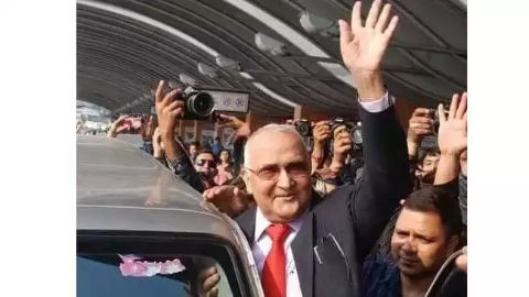 Nepalese PM's visit to India
