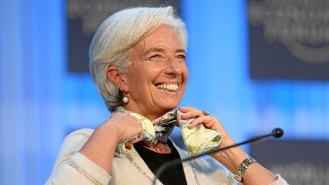 Christine Lagarde, the first woman IMF Chief
