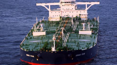 Indian oil tanker hijacked off Ivory Coast