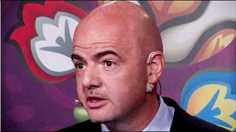 Gianni Infantino replaces Blatter as FIFA's President