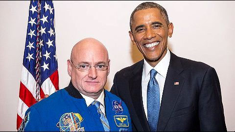 Scott Kelly: To the space and back
