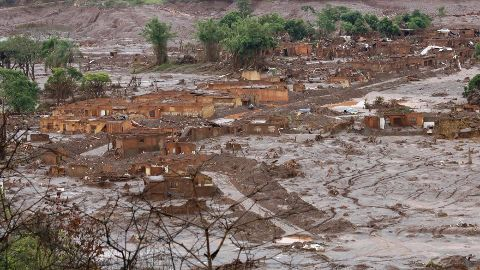 What did the dams hold?
