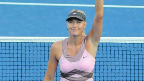 Sharapova caught doping?