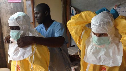 Ebola stages a comeback