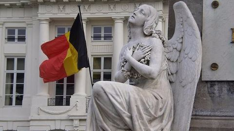 Multiple explosions hit Brussels