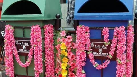 Bengaluru dustbins in trouble: 500 go missing, some vandalized