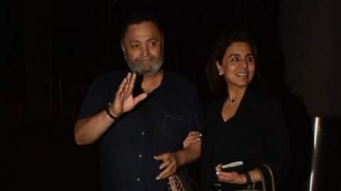 After 11 months, 11 days, cancer-survivor Rishi Kapoor returns home
