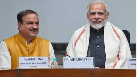 Prime Minister likely to hold condolence meeting for Ananth Kumar