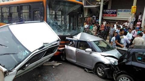 Delhi roads see a spike in accidents, deaths