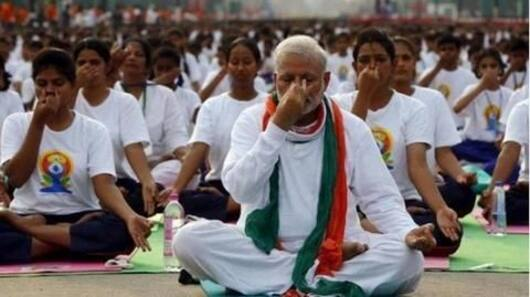 Yoga is India's gift to world: PM Modi