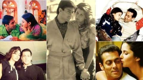Six times when Salman fell in and failed at love