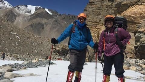 India's first father-daughter duo to scale Mt. Everest