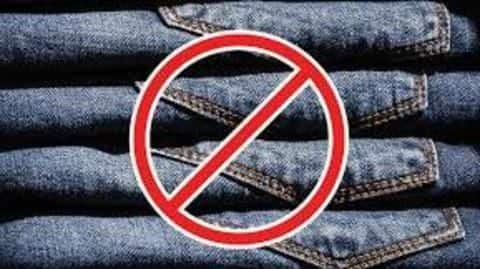 Say no to denim, opt for free fitting clothes