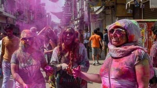 Holi hooliganism in the national capital