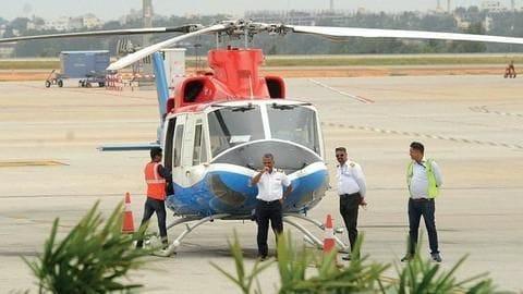 Bengaluru: Another chopper added to Heli Taxii fleet