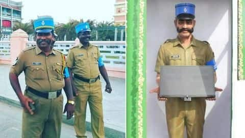 Puducherry has its own Singham. Check out