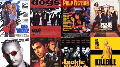 Eight of Quentin Tarantino's films, ranked worst to best
