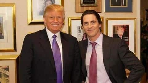 Donald Trump actually thought Christian Bale was Bruce Wayne. What?