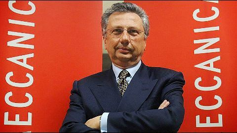 Finmeccanica boss sentenced in the Indian chopper scam