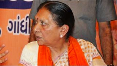 Anandiben asks people to maintain peace, Congress demands resignation