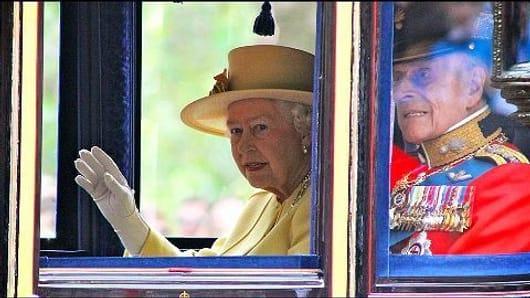 90 years of Britain's nonagenarian sovereign