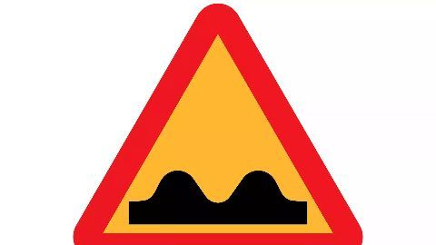 3D optical illusions as speed breakers