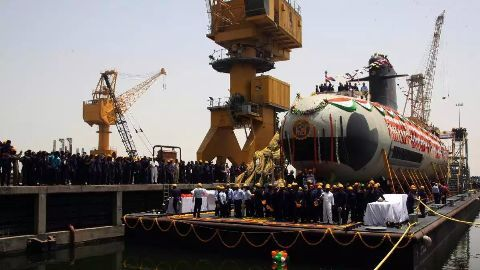 India's Scorpene class submarines