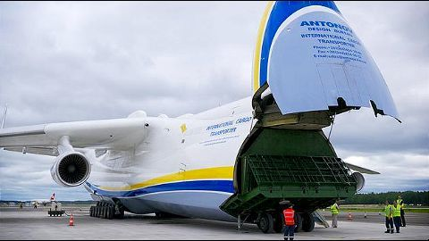 Mriya to deliver cargo from Prague to Perth