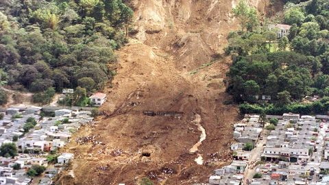 100 missing in landslides declared dead