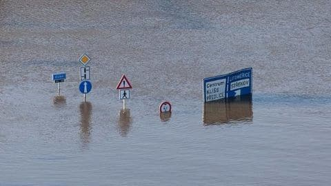 Floods and rains put Central Europe on alert