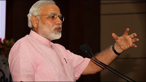 Modi stresses on 'partnership' to the US senators