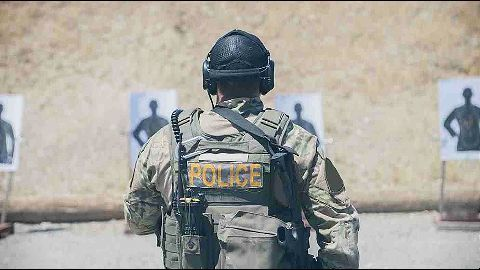 One surrendered, other wounded: Police