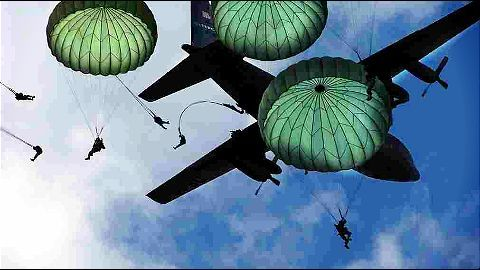 Unsafe indigenous military parachutes