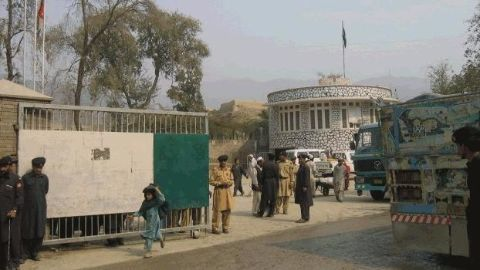 The disputed Afghan-Pakistan Border