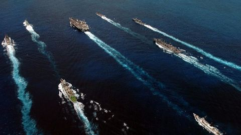 Indonesia fires Chinese vessels in South China Sea
