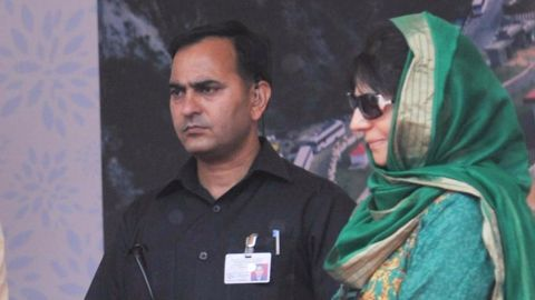 Being the first woman CM of Jammu and Kashmir