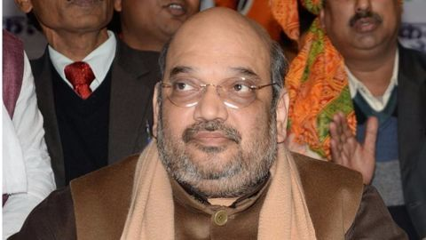 Shah dubs Kashmir issue as Nehru's 'historic blunder'