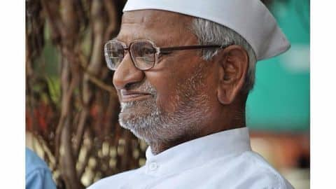 Anna writes to PM Modi, expresses concern over Smart Cities