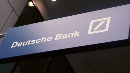 Deutsche Bank- Riskiest financial institution?