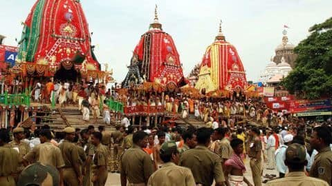 Heavy security for this year's Rath Yatra