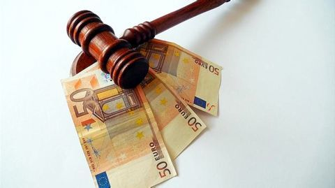 Compensation equal to raised tax demand and Cairn's stake value