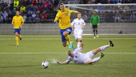 Playing for Sweden