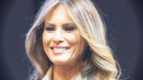 Melania Trump compensates for 'Doom-and-Gloom' message