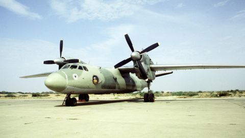 The missing IAF AN-32